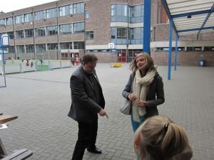 Wist je dat... meneer Buntinx zijn leerlingen zelfs les geeft tijdens de opendeurdag?