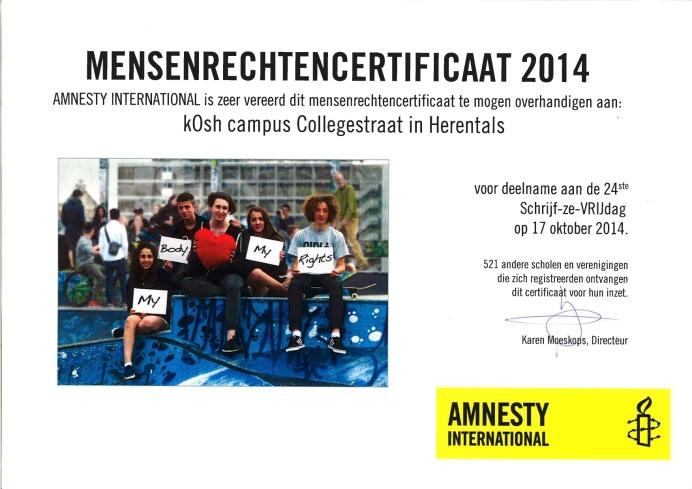 Mensenrechtencertificaat